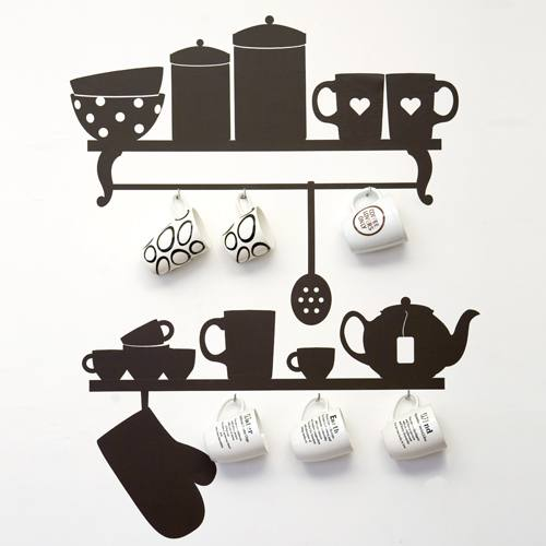 Arquitectura de casas decoraci n de cocinas al estilo - Decorar cocina con vinilos ...