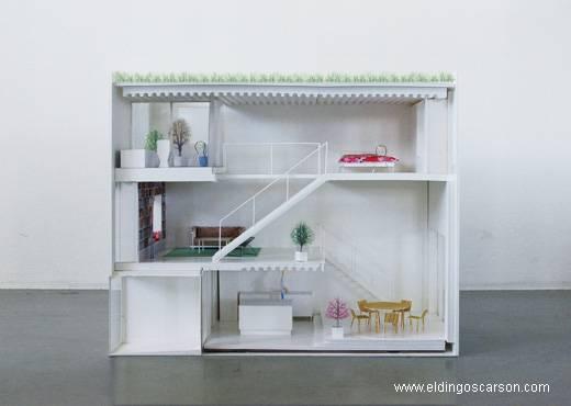 Maquetas de casas modernas imagui for Casa moderna maqueta