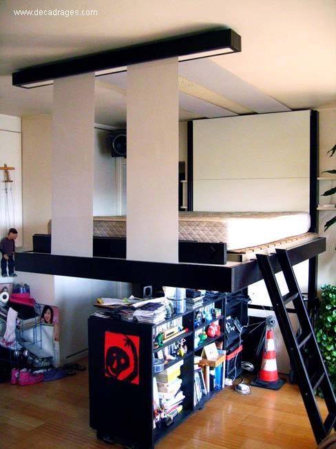 Arquitectura de casas originales camas abatibles francesas - Construir cama abatible ...