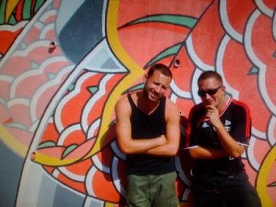 Artistas de pintar fachadas