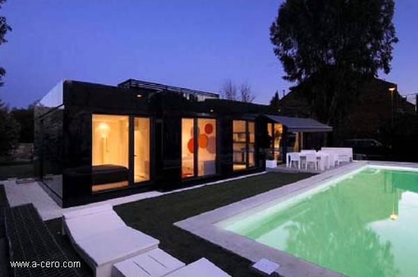 Arquitectura de casas modernas casas prefabricadas - Casas prefabricadas en espana ...