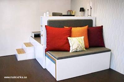 Decoracion mueble rincón multifunción salva espacio