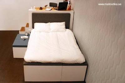 Configuraciones mueble como cama de una plaza