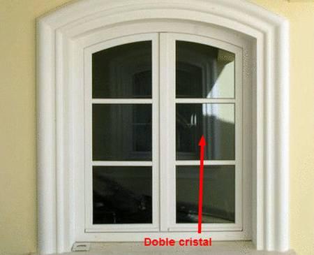Arquitectura de casas doble cristal en la ventanas de la - Cristales para casas ...