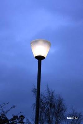 Farola iluminación exterior