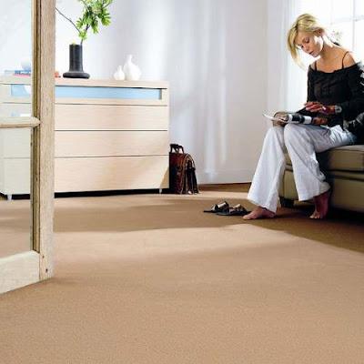 Piso con alfombra