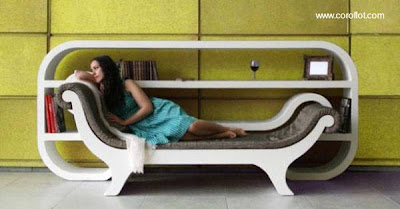 Sofa biblioteca