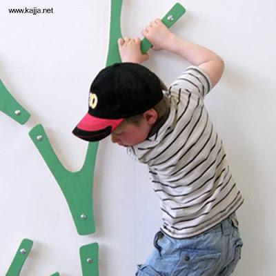 Escaladora decoración habitaciones infantiles
