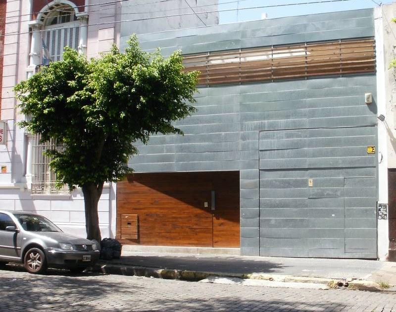 Arquitectura de casas fachada de planchas met licas - Planchas de metal ...