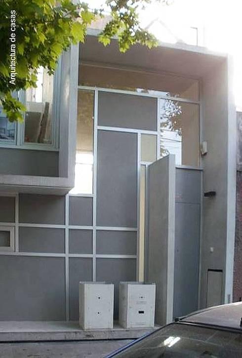 Arquitectura de casas casa d plex de dise o original - Duplex de diseno ...