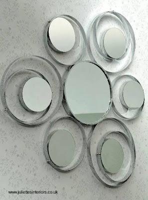Arquitectura de casas espejos decorativos refinados para for Conjunto de espejos decorativos