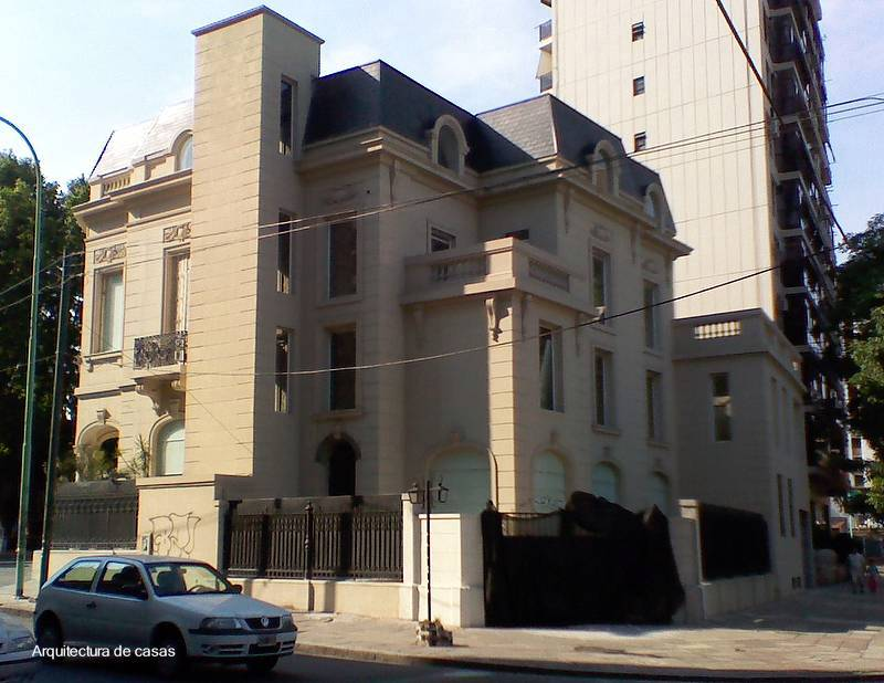 Arquitectura de casas gran casa con estilo franc s - Casas estilo frances ...