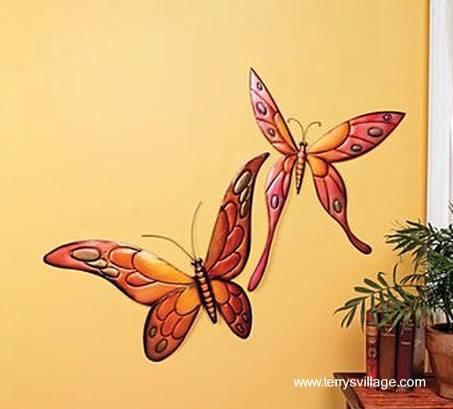 Plantillas de mariposas para pintar en pared imagui - Mariposas decoracion pared ...