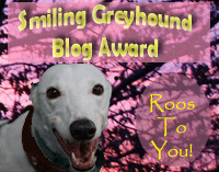 Smiling Greyhound Award