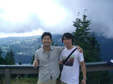 Grouse Mountain with Kwang