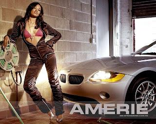 Amerie Sexy Wallpaper