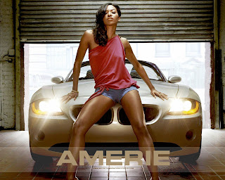 Amerie Lovely Wallpaper