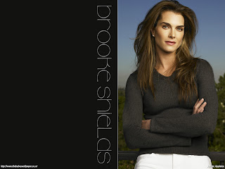 Brooke Shields Beautyful Wallpaper