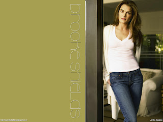 Hot Brooke Shields Wallpaper