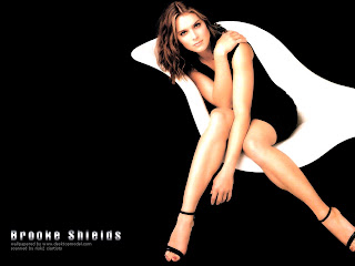 Brooke Shields Lovely Wallpaper