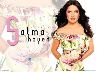 Beauty Salma Hayek Wallpaper