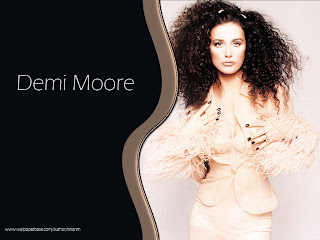 Beautyful Demi Moore Wallpaper