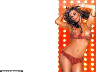 Carmen Electra Bikini Wallpaper