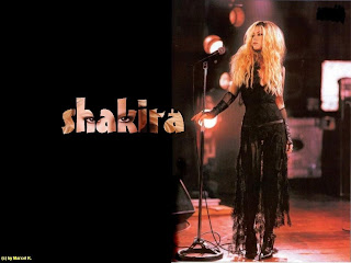 Shakira Music Wallpaper
