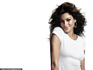 Eva Mendes Cute Wallpaper