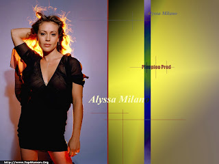 Alyssa Milano Hot Wallpaper