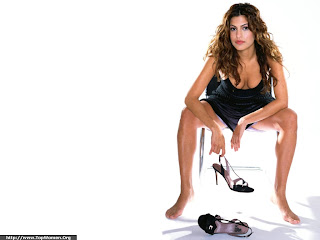 Eva Mendes Beautyful Wallpaper