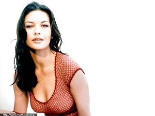 Catherine Zeta Jones Sexy Wallpaper