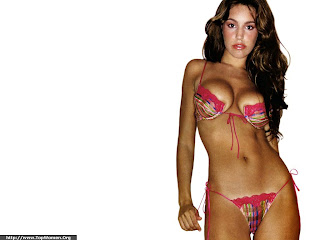 Kelly Brook Bikini Wallpaper