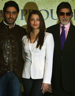 Aishwarya Rai - Abhishek With Big B