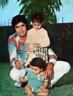 Amitabh Bachchan With Children