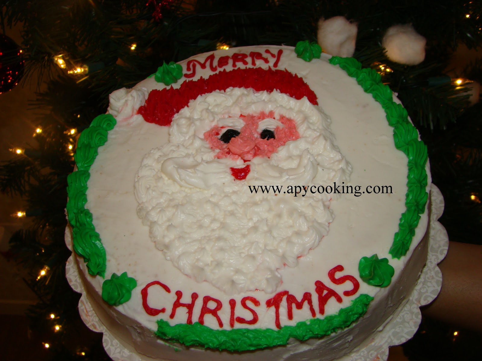 Santa Face Cake Recipe