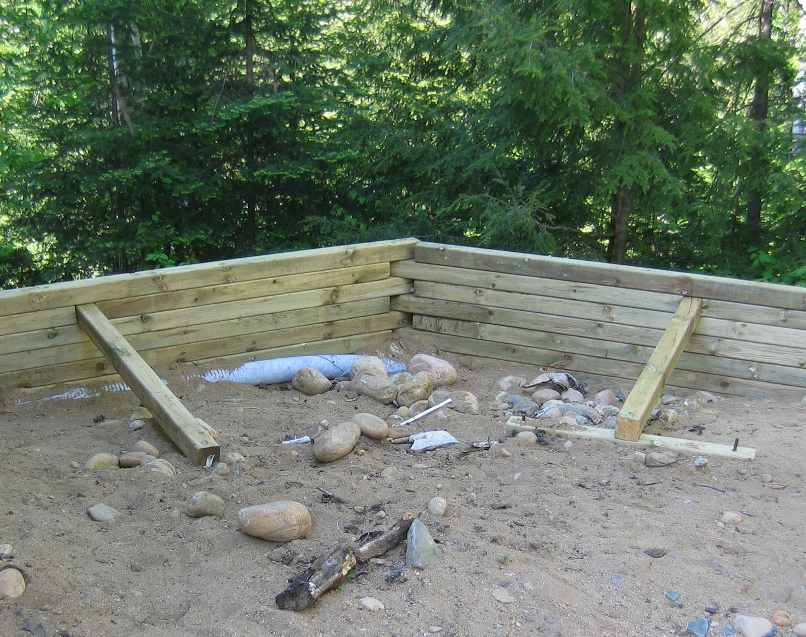 Woodwork Build 4x4 Wood Retaining Wall Pdf Plans