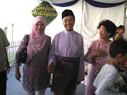 Tun Dr M , Tun Siti and ME