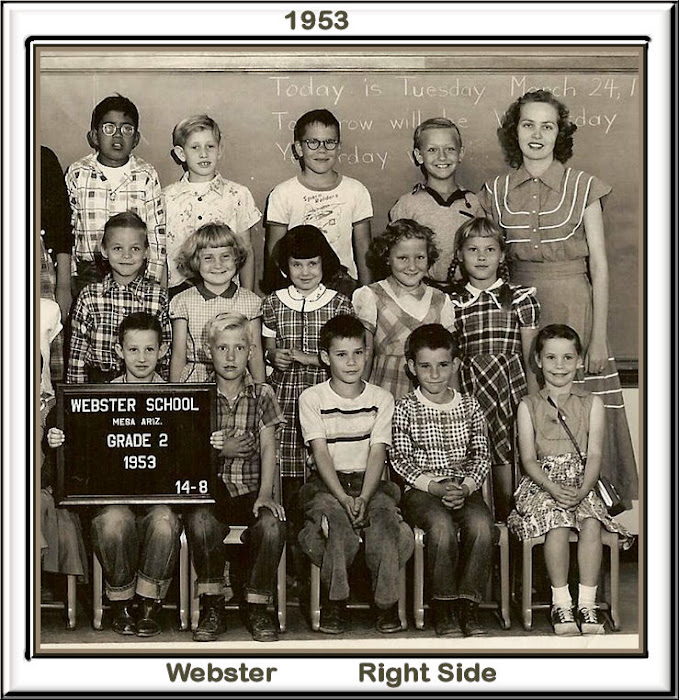 WEBSTER 2nd 1953 Right Side
