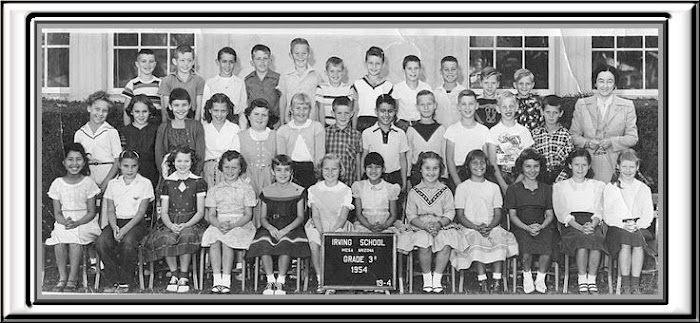 IRVING 3rd grade group  1954