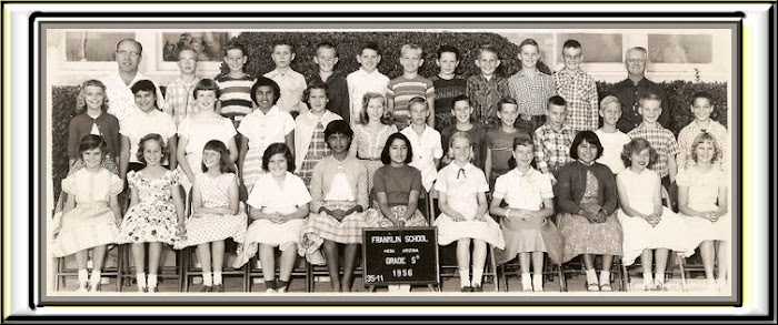 FRANKLIN 5th grade group 1956