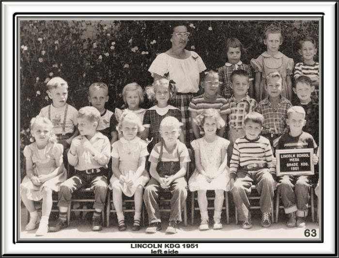 LINCOLN KINDERGARTEN 1951 LEFT SIDE