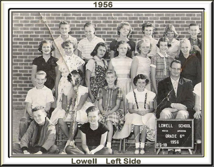 LOWELL 6th 1956 - 57 Left Side
