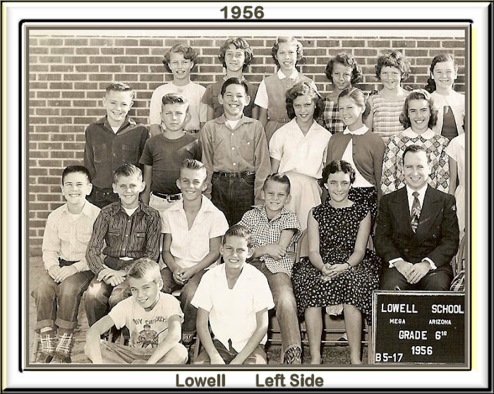 LOWELL 6th 1957 Left Side