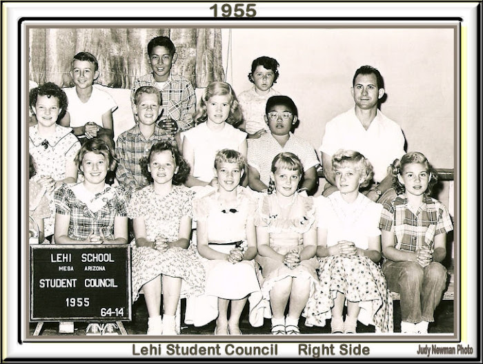 Lehi Student Council 1955 Right Side