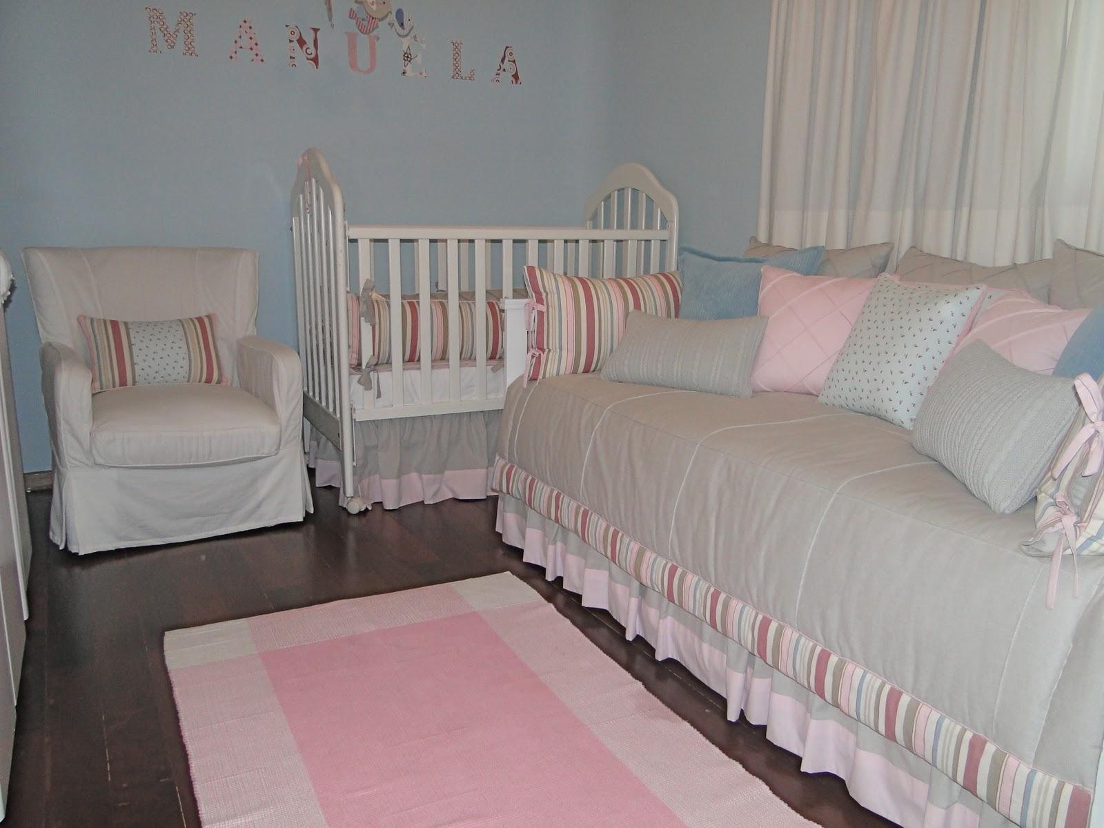 Layette Baby Home Quarto azul e rosa ~ Quarto Rosa E Azul