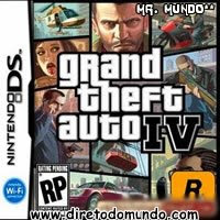 Roms Nintendo DS   Grand Theft Auto IV   GTA 4