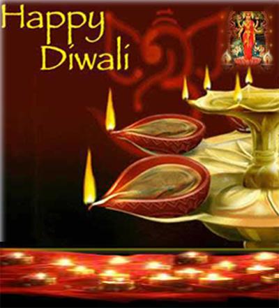 Diwali Pooja Thali Image