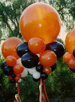 decoraciones con globos hallooween