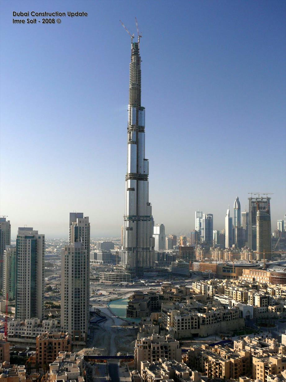 Burj Dubai the tallest building in the world